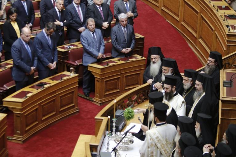 Αγιασμός στη Βουλή – Ιερώνυμος για αλλαγή φύλου: Παιχνιδίσματα για να περνάμε την ώρα μας | Newsit.gr