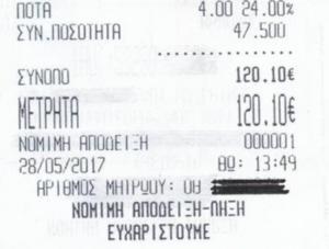 Πιερία: Η απόδειξη της ταβέρνας έκρυβε εκπλήξεις – Οι εξηγήσεις του ιδιοκτήτη για τις τιμές και ο επίμαχος διάλογος [pics]