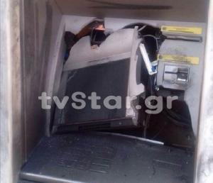 Φθιώτιδα: Ανατίναξαν αυτό το ΑΤΜ και έφυγαν με 47.000 ευρώ – Το τέλειο χτύπημα των δραστών [pics]