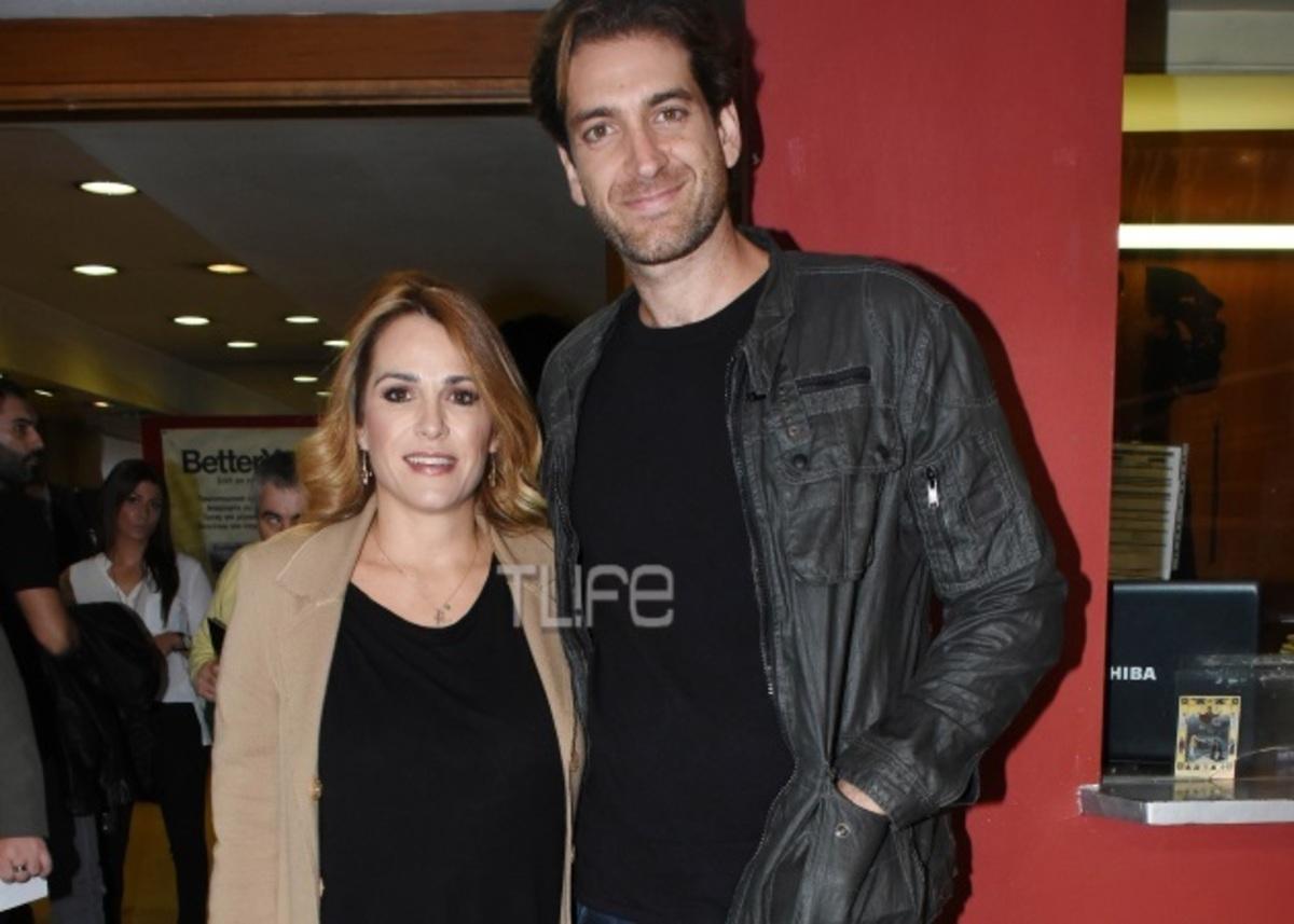 Τζένη Μπότση – Αλέξανδρος Μιχαλάς: Σπάνια βραδινή έξοδος για το ζευγάρι [pics] | Newsit.gr