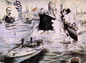 Έτσι ο Νικόλαος Βότσης βύθισε το τουρκικό θωρηκτό Φετίχ Μπουλέντ