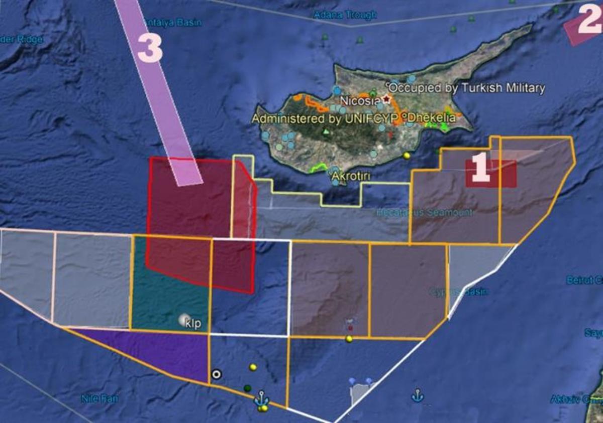 Τουρκία Κύπρος ΑΟΖ