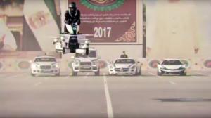 H αστυνομία του Ντουμπάι πετάει κυριολεκτικά! [vid]