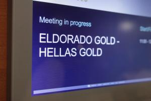 Δεν θα συμμετάσχει στο αναπτυξιακό συνέδριο Χαλκιδικής η εταιρία «Ελληνικός Χρυσός Α.Ε.»