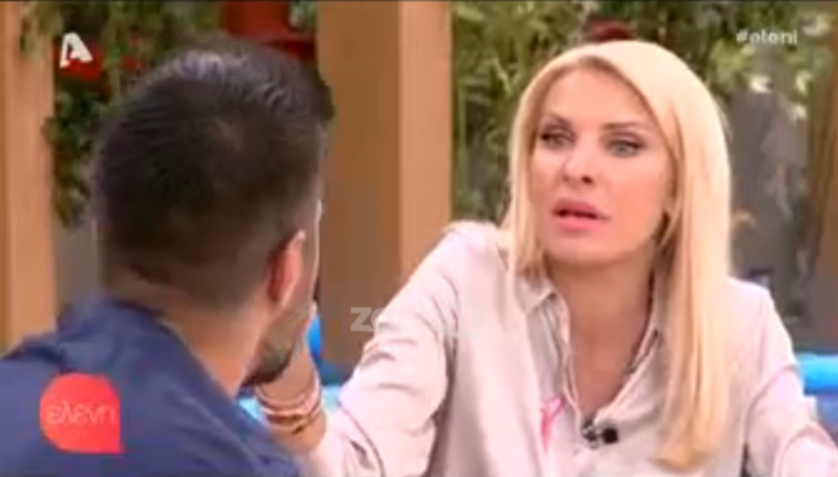 «Μούδιασε» η Ελένη Μενεγάκη με την αντίδραση του Τσιμιτσέλη! «Είναι κρυφό αυτό;» [vid] | Newsit.gr