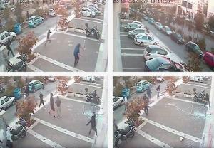 Video ντοκουμέντο από την επίθεση στο Έθνος