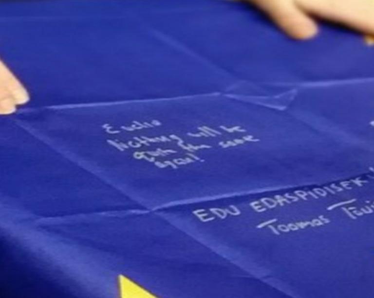 Eurogroup: Τσακαλώτος… αφιερώνει στον Βόλφγκανγκ Σόιμπλε!