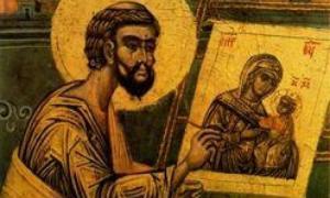 Ο Ευαγγελιστής Λουκάς και οι πρώτες εικόνες της Παναγίας
