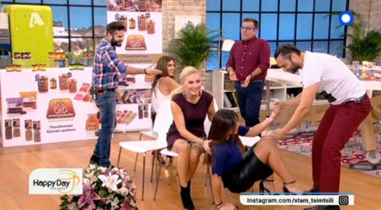 Πέταξαν τη Φλορίντα Πετρουτσέλι κάτω απ' την καρέκλα! | Newsit.gr