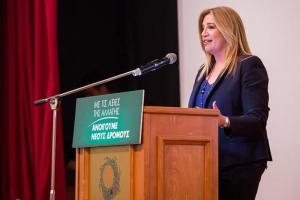 Φώφη Γεννηματά: Θα τους χαλάσουμε τη «σούπα» – Ντέρμπι για τρεις οι επόμενες εκλογές