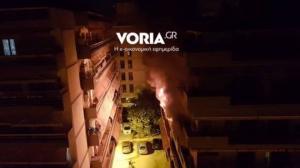 Θεσσαλονίκη: Μεγάλη φωτιά σε διαμέρισμα – Ένα άτομο στο νοσοκομείο – Η μεγάλη επιχείρηση της πυροσβεστικής!