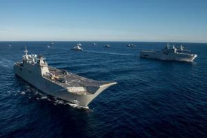 Καρέ – καρέ η συμμετοχή της φρεγάτας ΛΗΜΝΟΣ στη Ναυτική Δύναμη SNMG2 – Εντυπωσιακά πλάνα