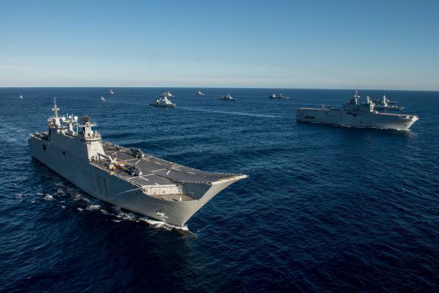 Καρέ – καρέ η συμμετοχή της φρεγάτας ΛΗΜΝΟΣ στη Ναυτική Δύναμη SNMG2 – Εντυπωσιακά πλάνα | Newsit.gr