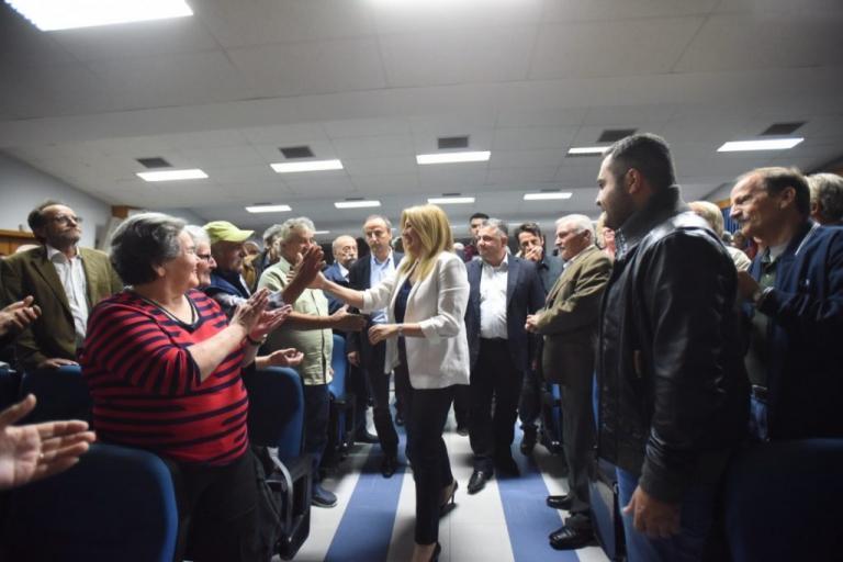 Φώφη Γεννηματά: Ο κ.Τσίπρας σε ρόλο Μαρίας Αντουανέτας | Newsit.gr