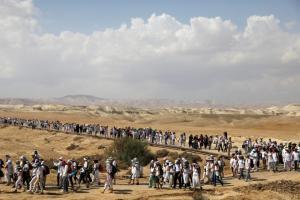 Ιστορική συγκέντρωση: Ισραηλινές και Παλαιστίνιες διαδήλωσαν μαζί για την ειρήνη [pics]