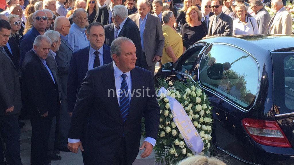 Μιχάλης Ζαφειρόπουλος κηδεία