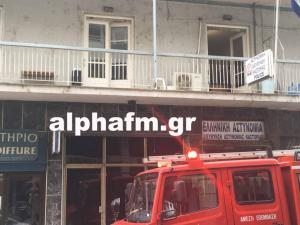 Καστοριά: Πήρε φωτιά το αστυνομικό τμήμα – Οι πρώτες εικόνες από τις προσπάθειες κατάσβεσης [pics, vid]