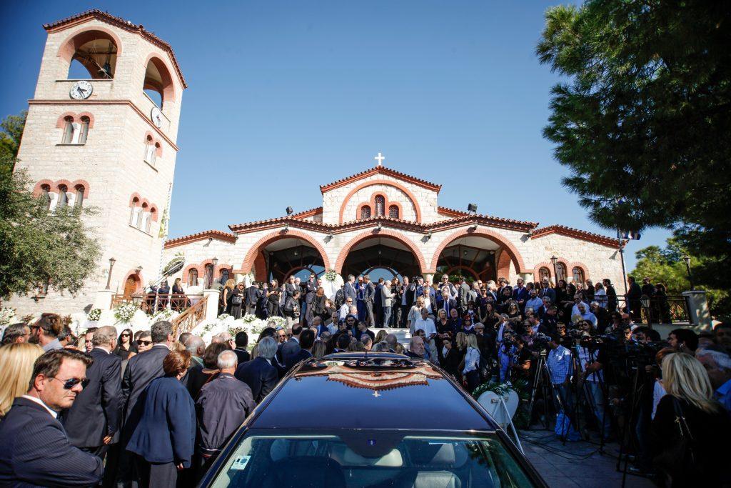 Κηδεία Μιχάλη Ζαφειρόπουλου Μιχάλης Ζαφειρόπουλος