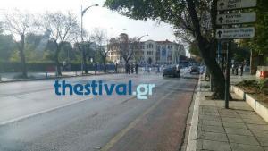 Θεσσαλονίκη: Κλειστό τμήμα της Λεωφόρου Στρατού λόγω της ομιλίας Τσίπρα
