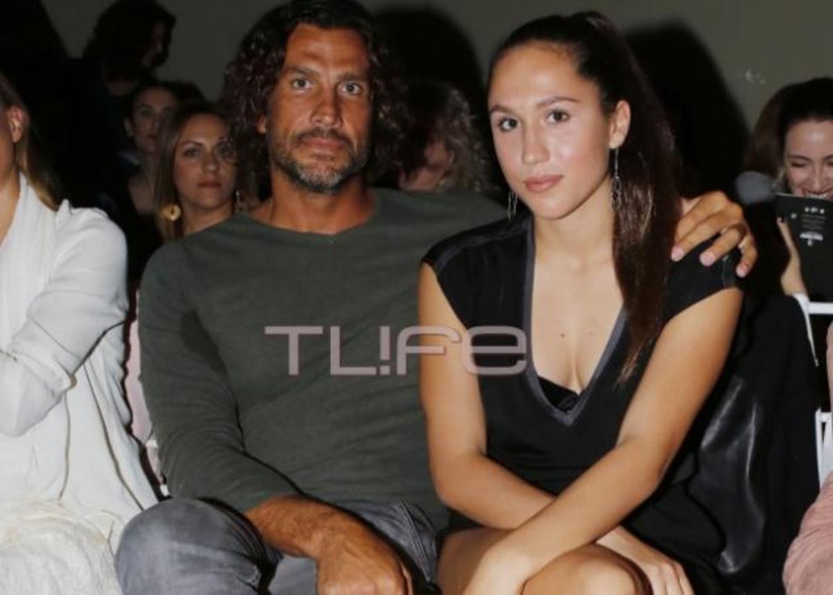 Κώστας Κοκκινάκης: Με την κόρη του σε fashion show! | Newsit.gr