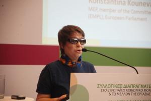 Στα δικαστήρια ξανά η Κωνσταντίνα Κούνεβα για την επίθεση με το βιτριόλι