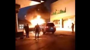 «Υπερήρωας» έσωσε βενζινάδικο από φωτιά! [vid]