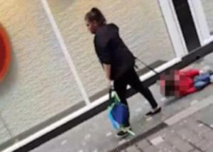 Ξεσπά η μητέρα που έσερνε με λουρί τον γιο της στον δρόμο [vid]