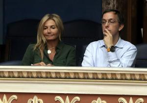 Μαρέβα Μητσοτάκη: Σπάνια εμφάνιση στα θεωρεία της Βουλής [pics]