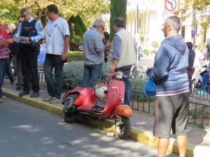 Χίος: Σε κρίσιμη κατάσταση γυναίκα οδηγός μηχανής