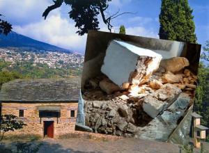 Λάρισα: Έψαχναν για λίρες και διέλυσαν Βυζαντινό μοναστήρι – Αυτοψία μετά τις έρευνες [pics]