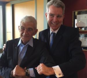 Θεσσαλονίκη: Η αποτυχημένη προσπάθεια του Γιάννη Μπουτάρη και η ιδιαίτερη φωτογραφία με τον Αμερικανό πρέσβη [pics]