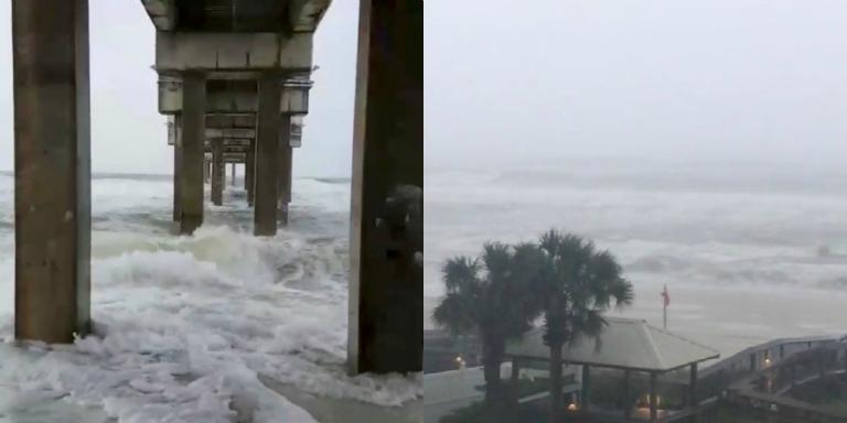 Κυκλώνας Νέιτ: Έφθασε αγριεμένος στις ΗΠΑ   Newsit.gr