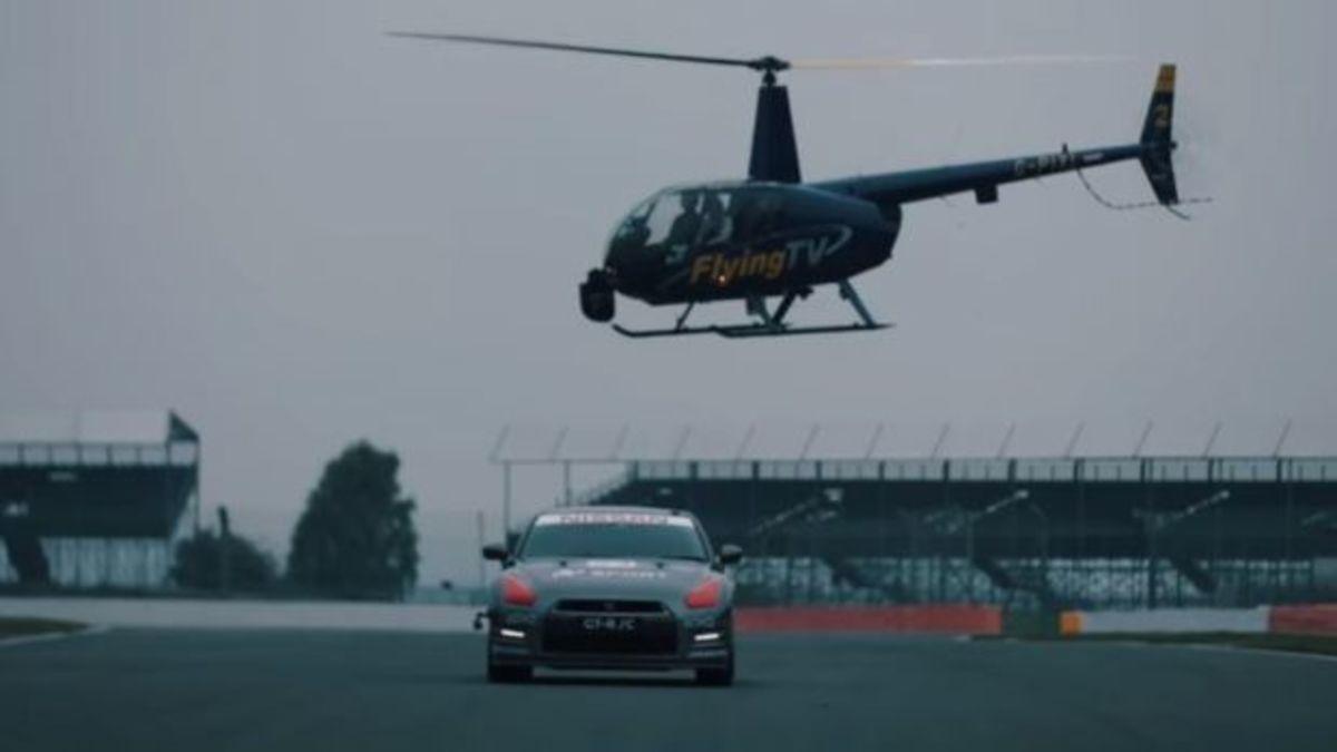 Δείτε ένα Nissan GT-R να οδηγείται με χειριστήριο… PlayStation από ψηλά! [vid] | Newsit.gr