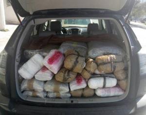 Θεσπρωτία: Μετέφερε 133 κιλά χασίς με κλεμμένο αυτοκίνητο