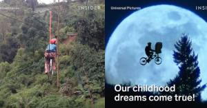Ποδηλατάδα στον… ουρανό!