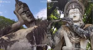 Το βουδιστικό πάρκο στο Λάος που κόβει την ανάσα