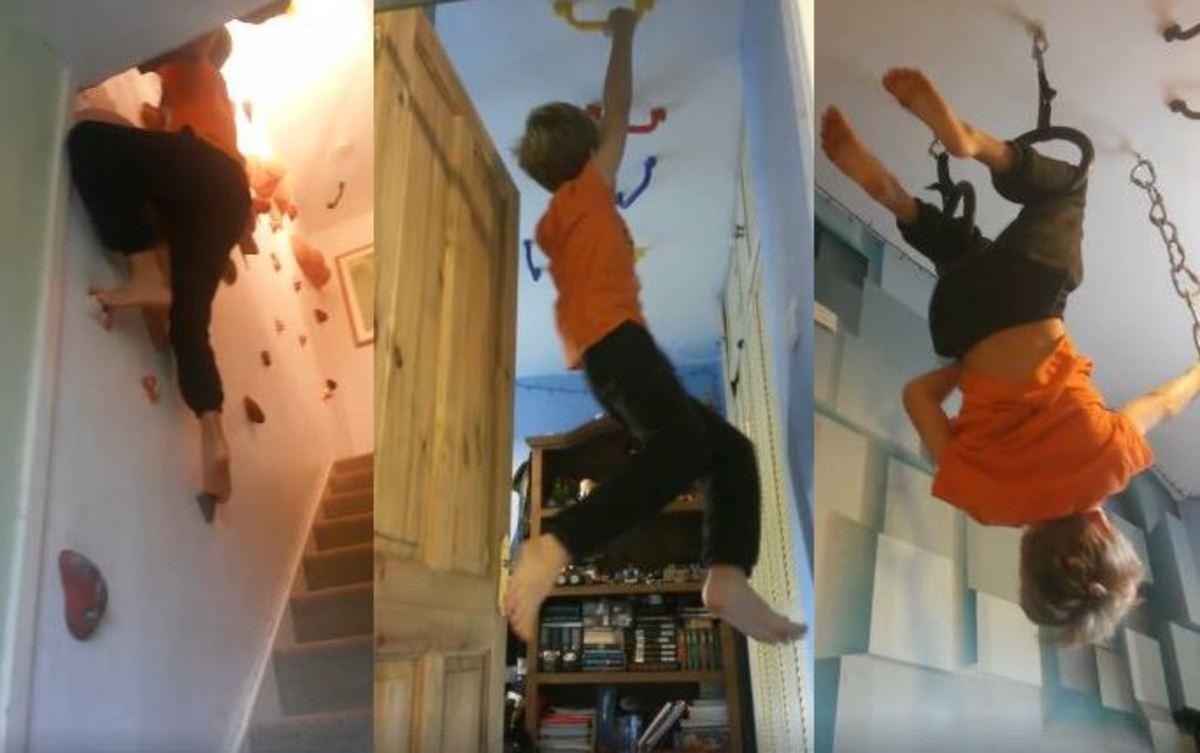 Ένας εναλλακτικός τρόπος από το να ανεβαίνετε απλά τη σκάλα… | Newsit.gr