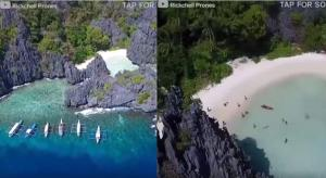 Η κρυφή παραλία που αξίζει να επισκεφτείτε κάποια στιγμή στη ζωή σας