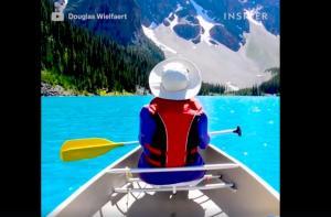 Η πιο γαλάζια λίμνη του κόσμου βρίσκεται στον Καναδά