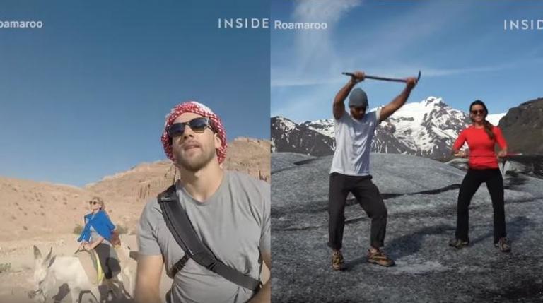 Πώς αυτό το ζευγάρι ταξιδεύει σε όλον τον κόσμο και πληρώνεται | Newsit.gr