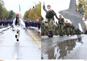 28η Οκτωβρίου – Ρίγη συγκίνησης στη στρατιωτική παρέλαση στη Θεσσαλονίκη