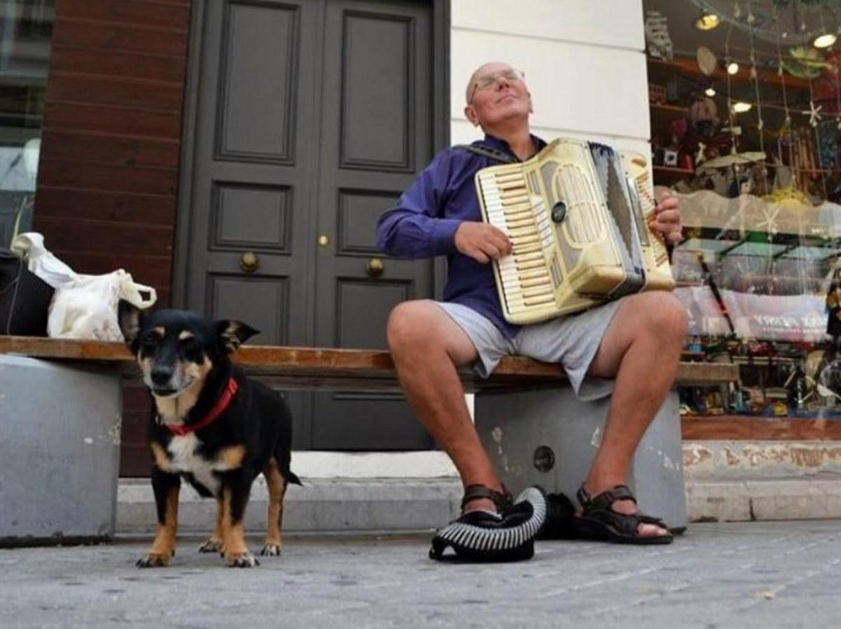 Πάτρα: Βρέθηκε νεκρός δίπλα από τη σκυλίτσα του – Οδύνη για τον μουσικό με το ακορντεόν [pics] | Newsit.gr