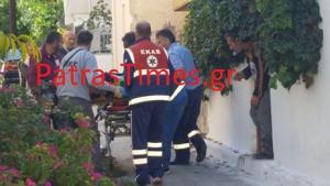 Πάτρα: Εργατικό ατύχημα σε σπίτι – Έπεσε από σκαλωσιά μπροστά στα μάτια τους [pics, vid]