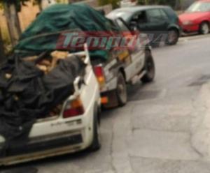 Πάτρα: Ο οδηγός κίνδυνος θάνατος – Πέρασε έτσι μπροστά από την τροχαία – Οι απίστευτες εικόνες [pics]