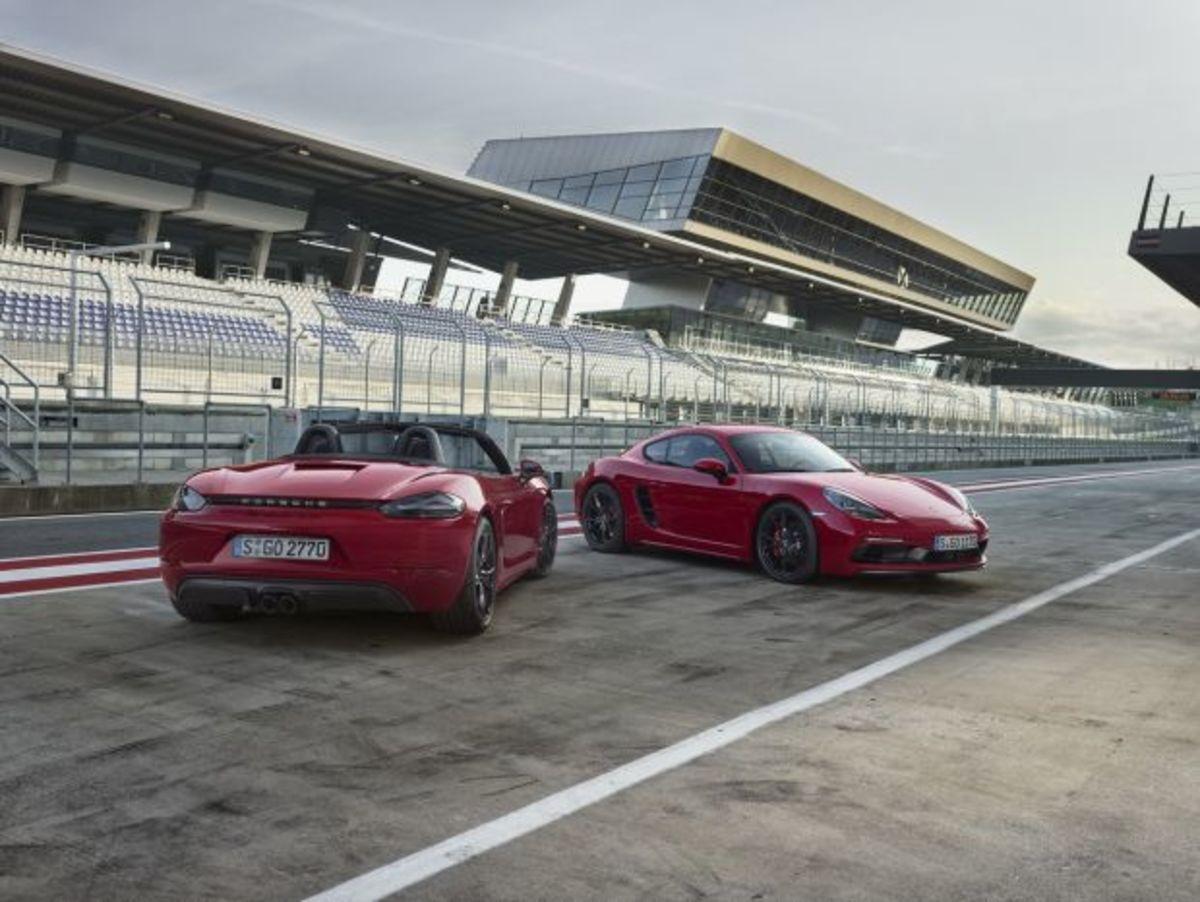 Επίσημο ντεμπούτο για τις Porsche Cayman & Boxster 718 GTS [vid]   Newsit.gr