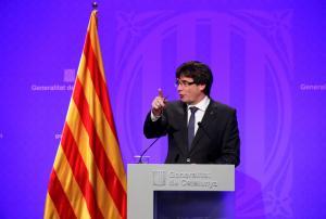 Πουιτζδεμόν: Η Καταλονία θα ανακηρύξει την ανεξαρτησία της μέσα στις επόμενες ημέρες