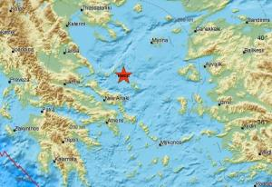 Δυνατός σεισμός κοντά στην Αλόννησο – Αισθητός και στην Αθήνα