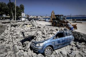 Σεισμός στην Κω: 9,5 εκατ. ευρώ το κόστος των ζημιών