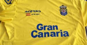 Δημοψήφισμα στην Καταλονία: Με ειδική φανέλα η Λας Πάλμας «απαντάει» σε Μπαρτσελόνα και Καταλανούς [pic]