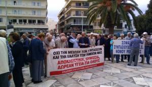 Κρήτη: Οι συνταξιούχοι στους δρόμους – Διαμαρτυρία στα Χανιά «για τα μέτρα που μας εξοντώνουν [vid]